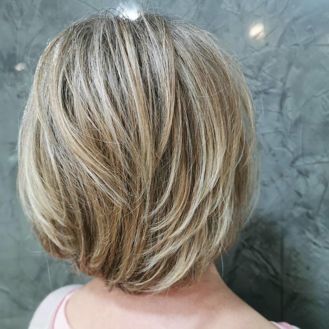 Welche Strähnen passen zu blonden Haaren - Haarfarbe für kurze Haare