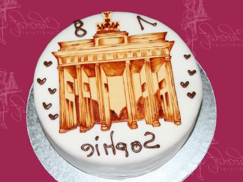 Torte 18. Geburtstag Ideen für Mädchen
