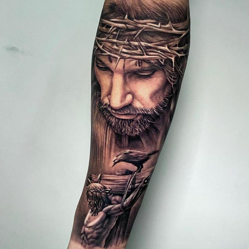 Jesus Tattoo 3D