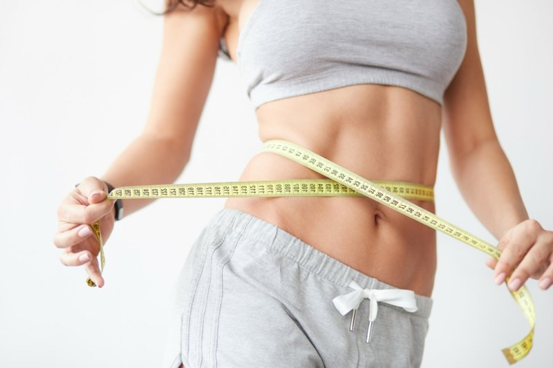 erfolgreich abnehmen Bauch