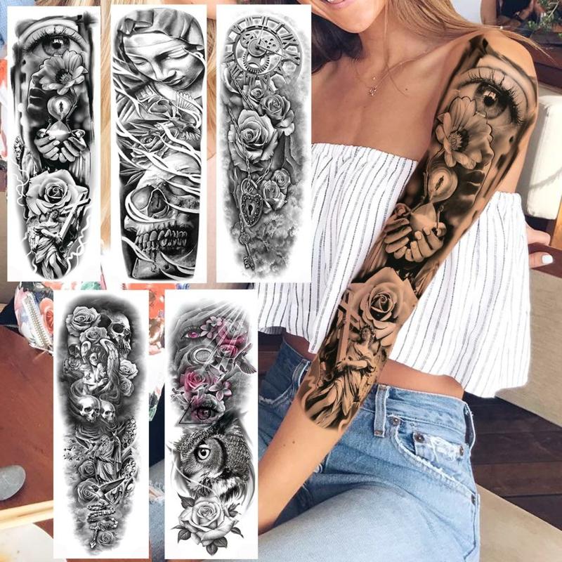 3D Tattoos für Damen Designs