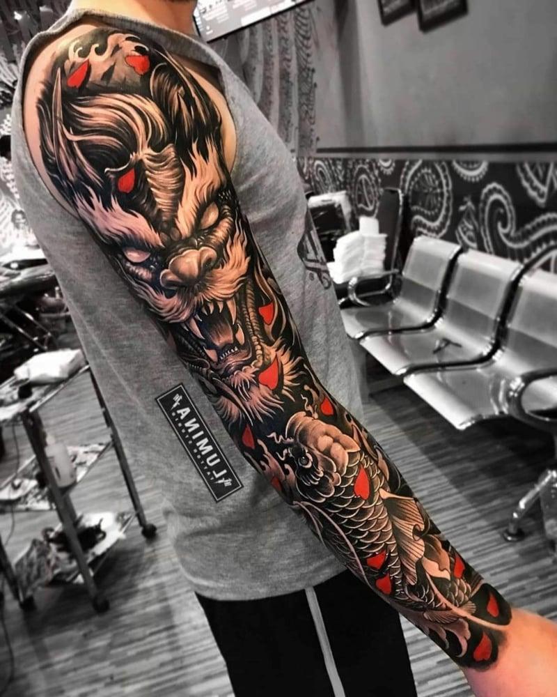Full Sleeve Tattoo Ideen und Anregungen