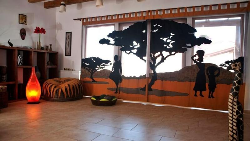 Wohnzimmer exotische Einrichtungsideen