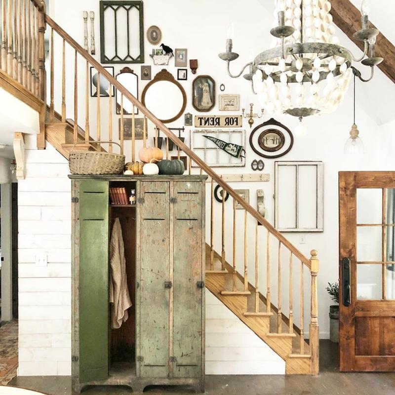 antike Deko toll Hauseingang