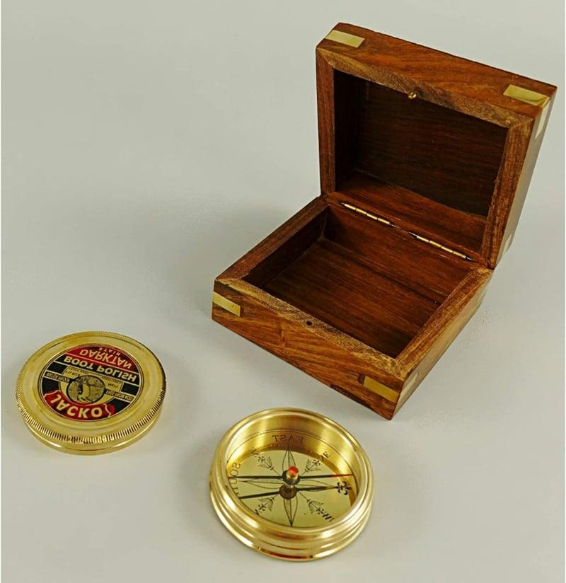 Kompass dekorativ Vintage Stil