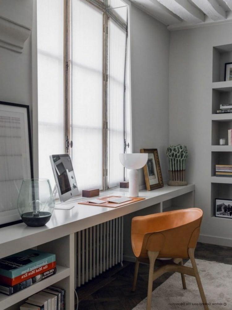 Home Office einrichten platzsparende Ideen