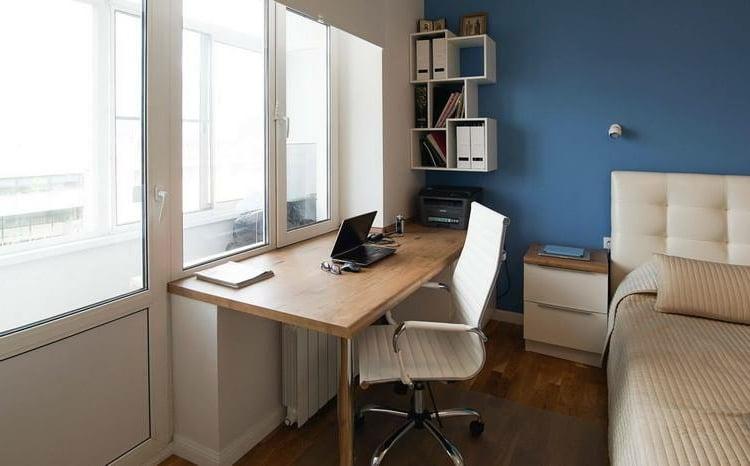 Arbeitsplatz zu Hause einrichten Schlafzimmer