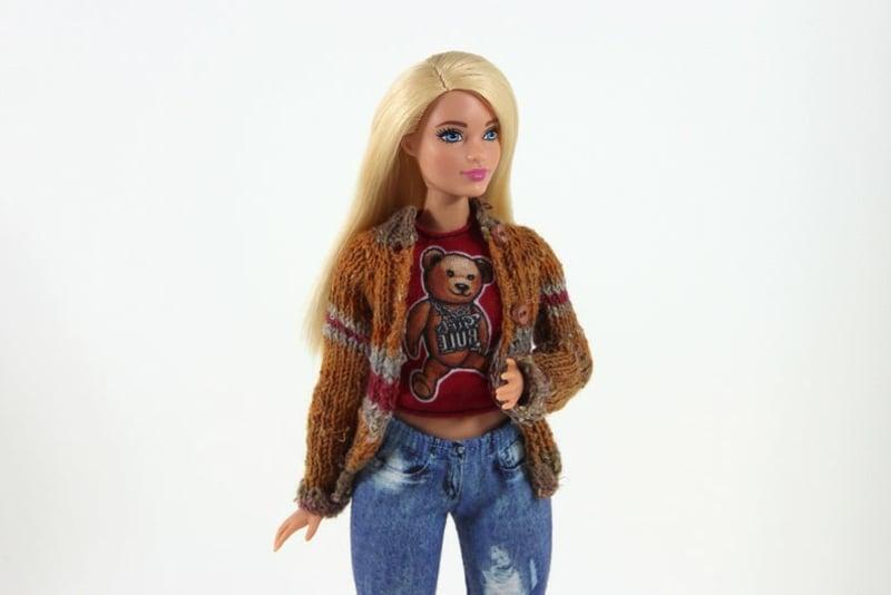 modische Outfits für Barbie Puppe
