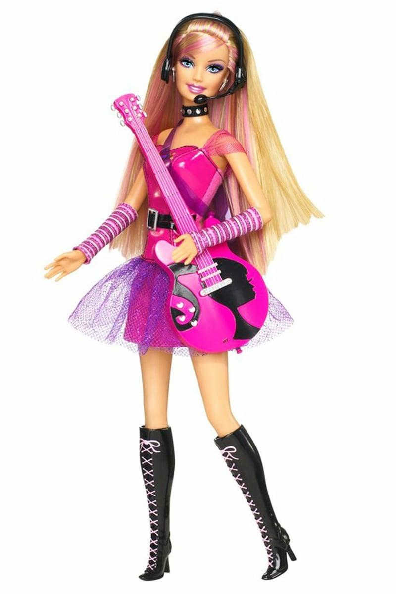 Barbie Kleidung DIY Rockstar
