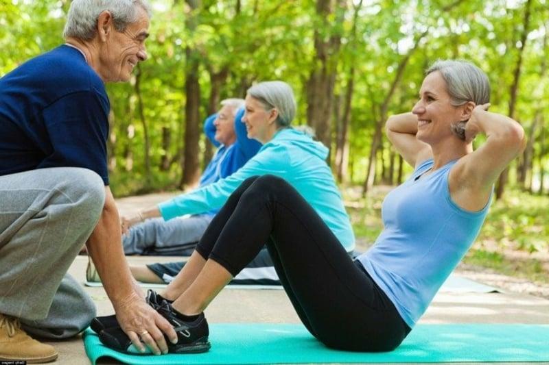 im Alter trainieren