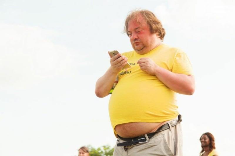 viszerales Fett schädlich für die Gesundheit
