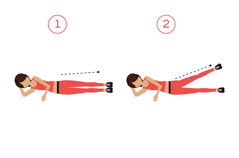 effektvolle Übungen Muskel aufbauen