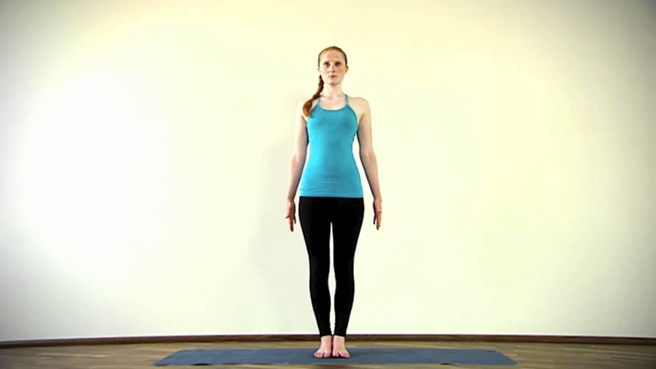Yoga Übungen für Anfänger Berghaltung