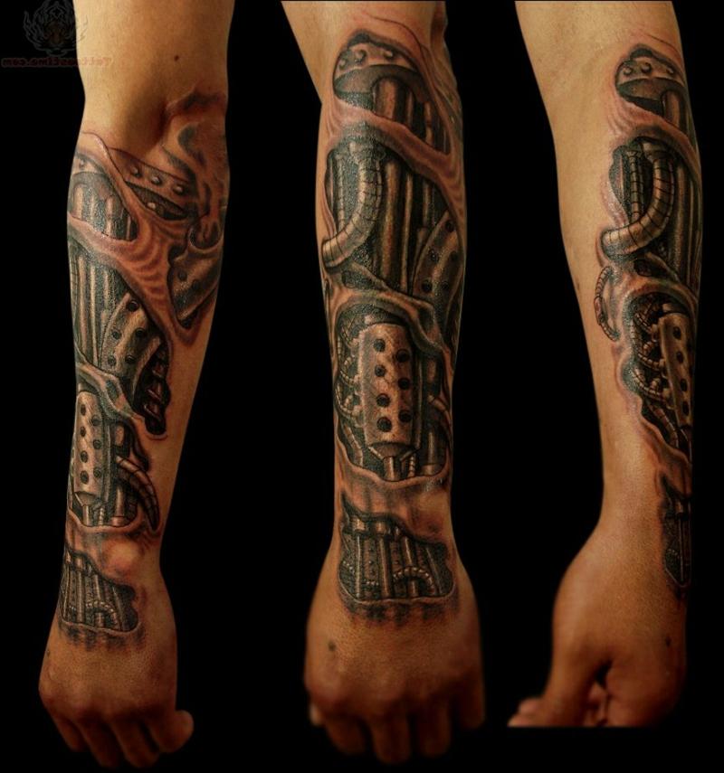 3D Tattoos coole Designideen