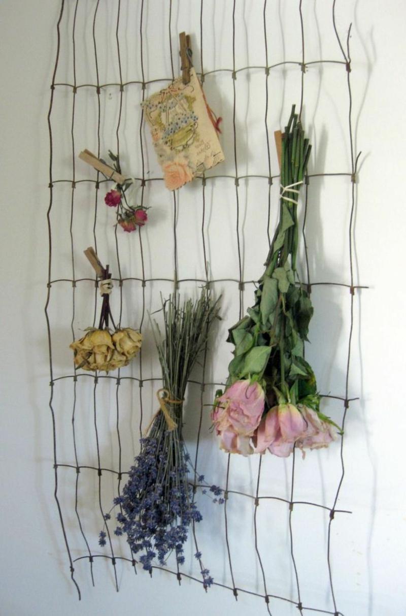 Blumen richtig trocknen