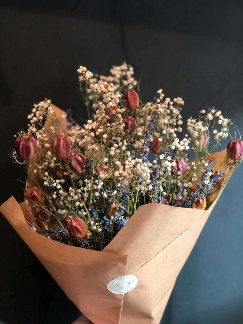 Blumenstrauß trocken tolle Geschenkidee
