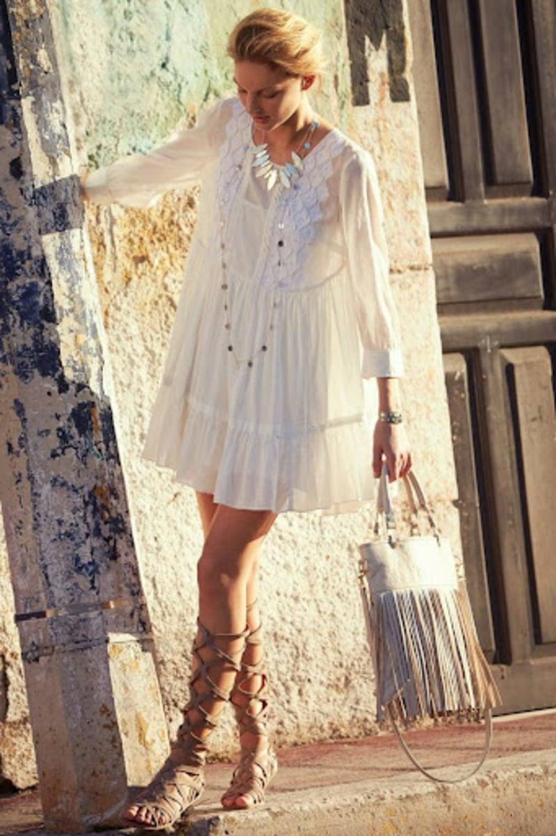 sommerliches Boho Kleid