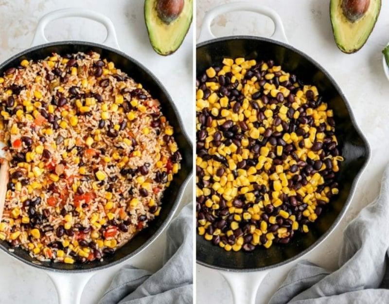 Reis nach mexikanischer Art zubereiten