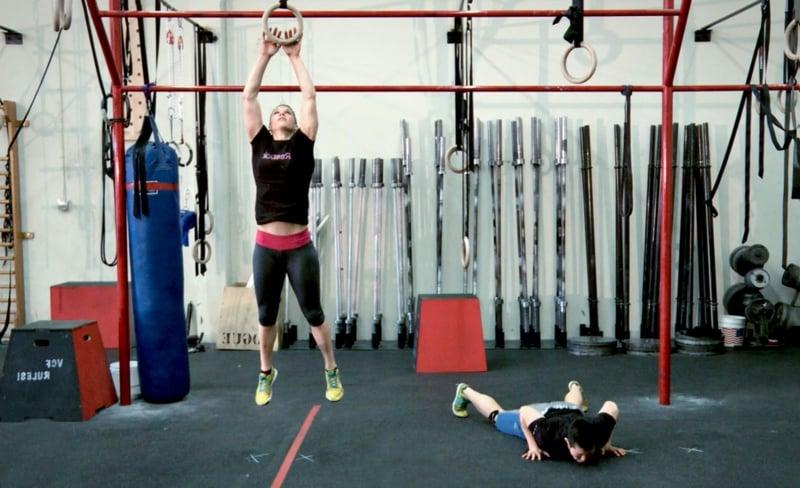 Crossfit Übugen für das Fitnessstudio