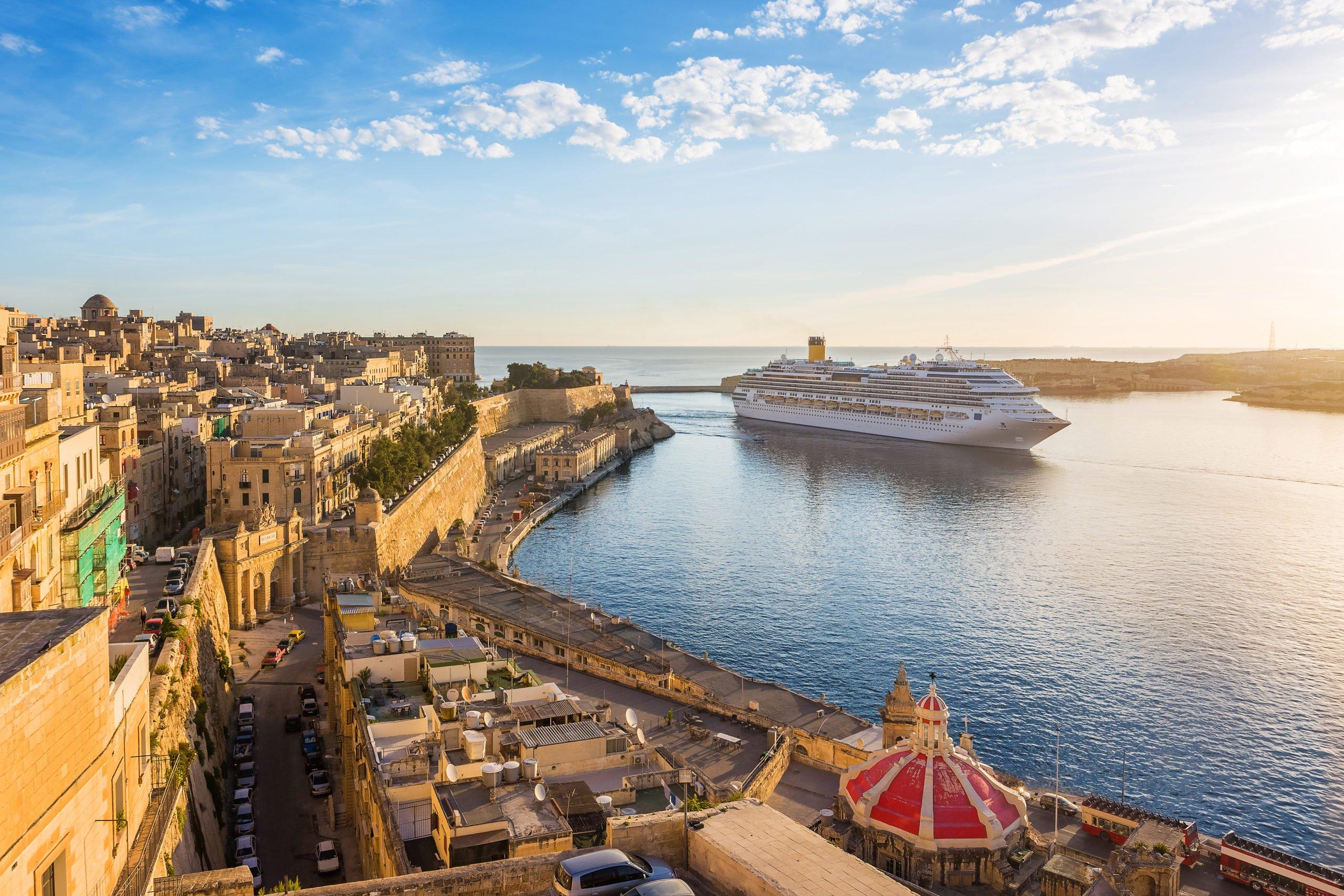 Eine Mittelmeer Kreuzfahrt - viele Reiseziele