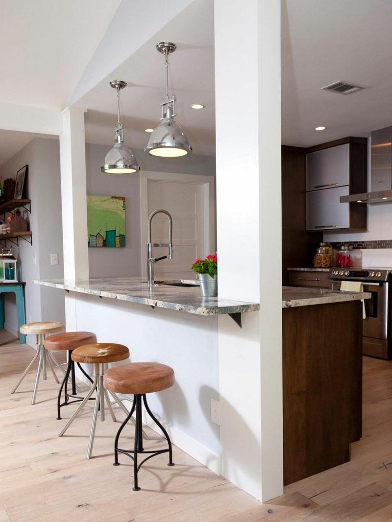 offener Wohnraum minimalistisch einrichten