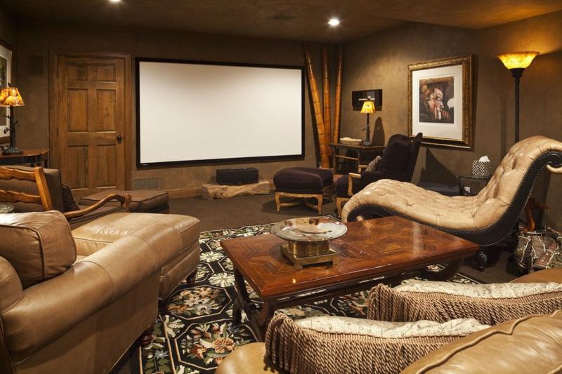 Wohnzimmer einrichten orientalisch Entspannungsecke prächtig
