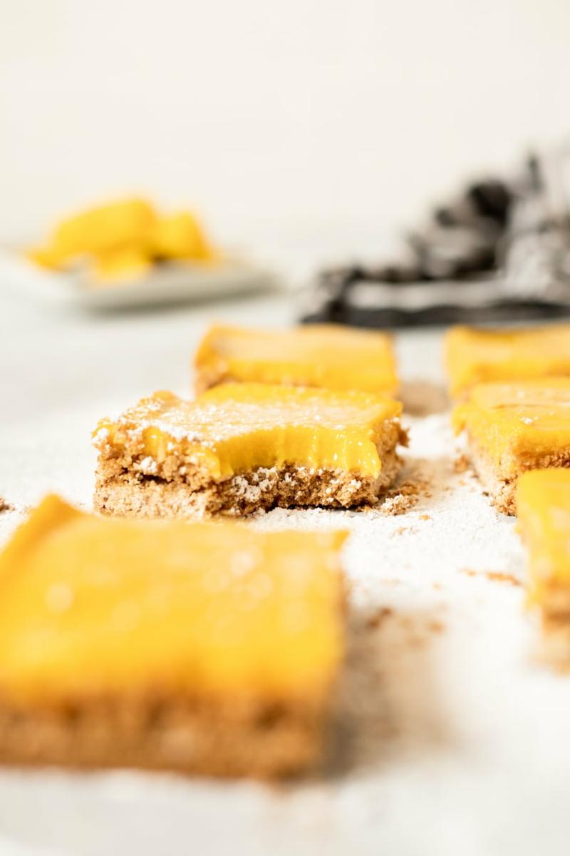 gesunde Rezeptideen Müsli Blöckchen mit Mango