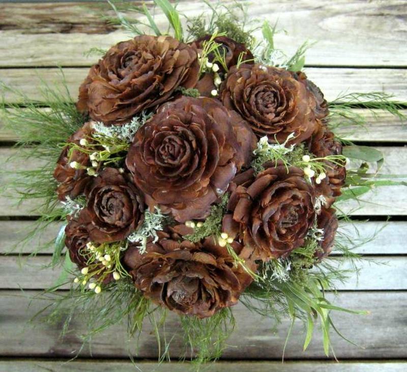 Trockenblumen selber machen Rosen