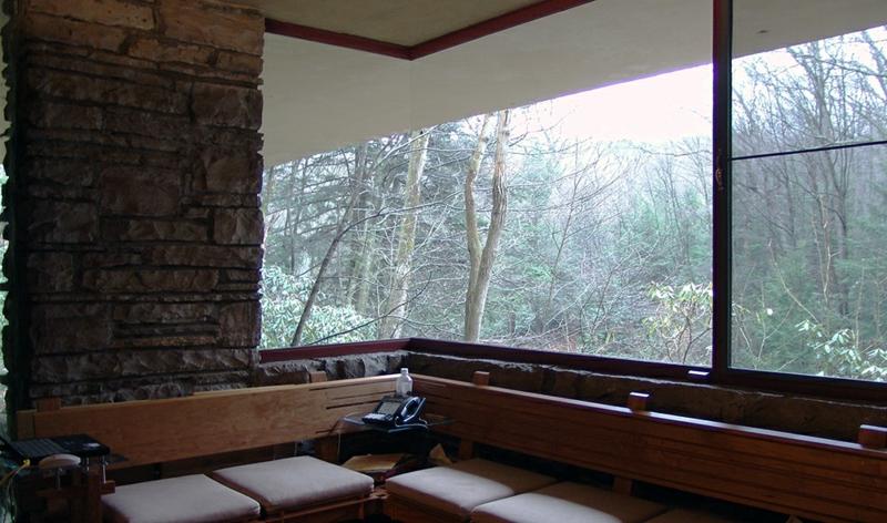 Fallingwater House schöne Aussicht