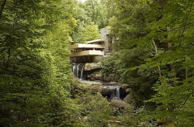 moderne Architektur Frank Lloyd Wright