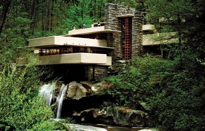 Fallingwater House Fassade