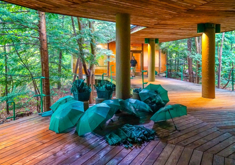 Bilder Terrasse Fallingwater House