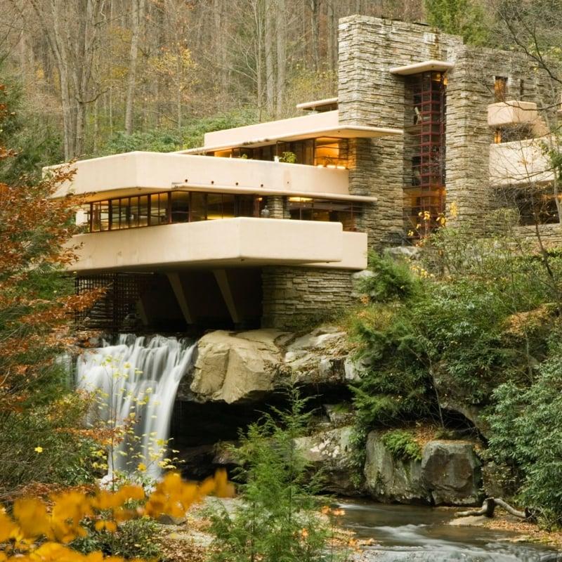 architektonische Meisterwerke Frank Lloyd Wright