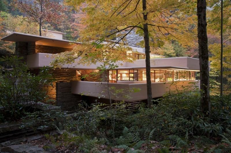 Fallingwater House herrlicher Look