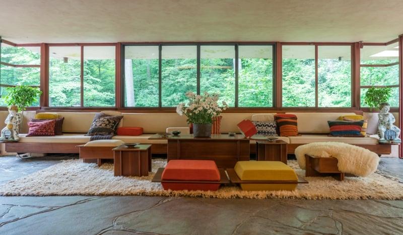 Sitzecke im Wohnzimmer herrlicher Look