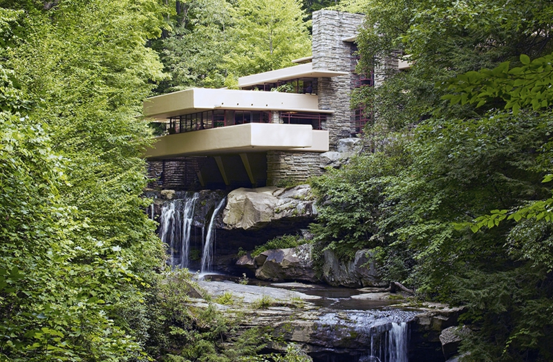 Fallingwater House von Frank Lloyd Wright