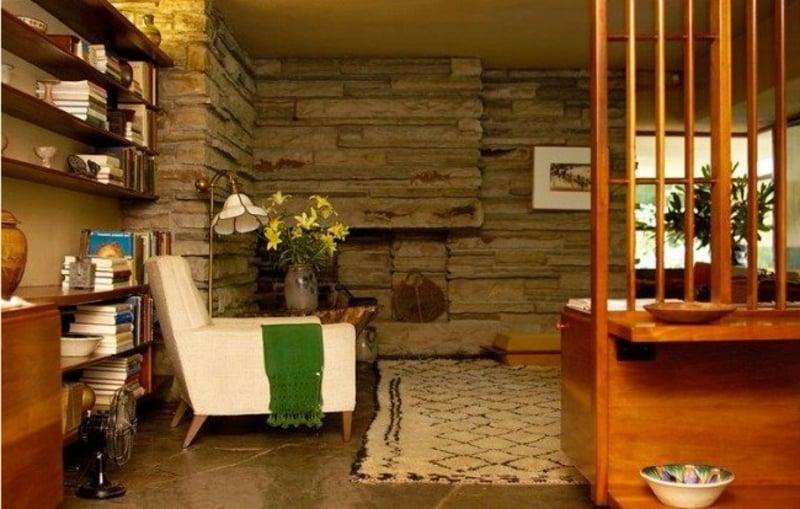 simples, aber sehr stilvolles Interieur