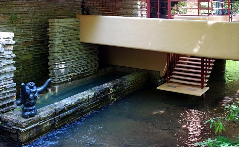 Fallingwater House atemberaubende Architektur