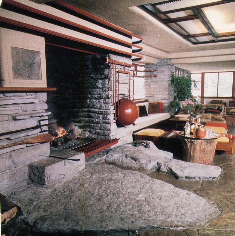 organische Architektur Naturmaterialien Stein