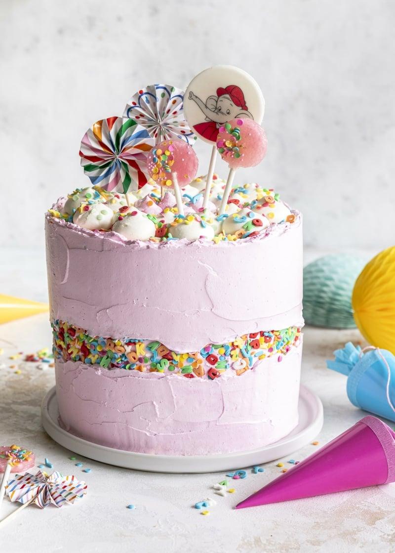 Fault Line Cake herrlicher Look