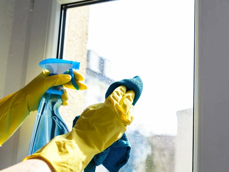 richtig Fenster putzen