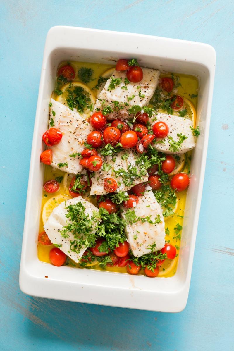 gebackener Fisch Rezept