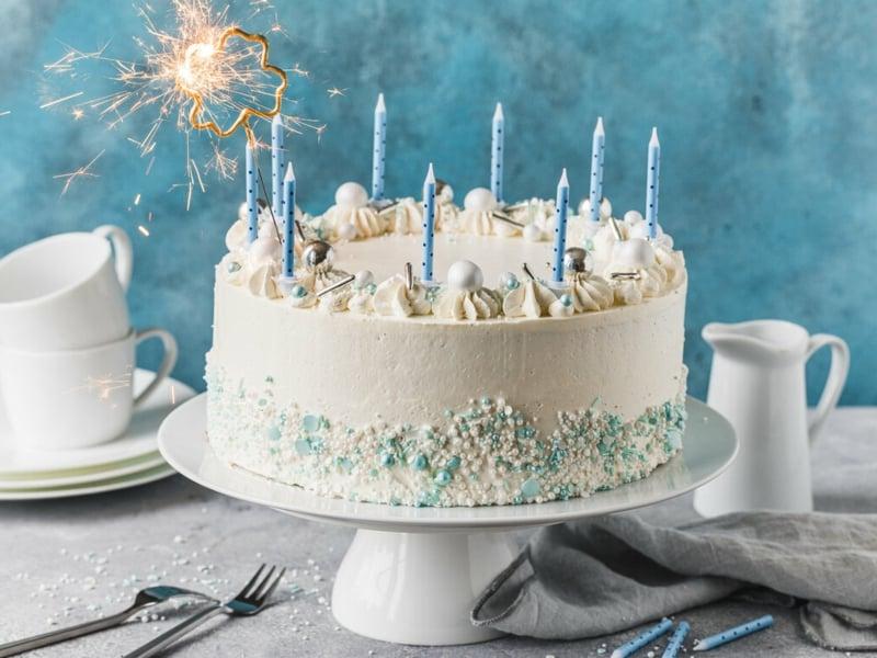 Torte 18. Geburtstag selber backen und dekorieren