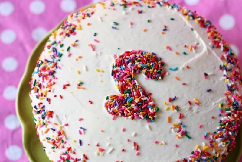 Torte zweiter Geburtstag