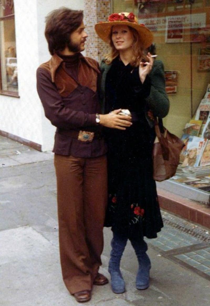Hippie Stil in der Vergangenheit