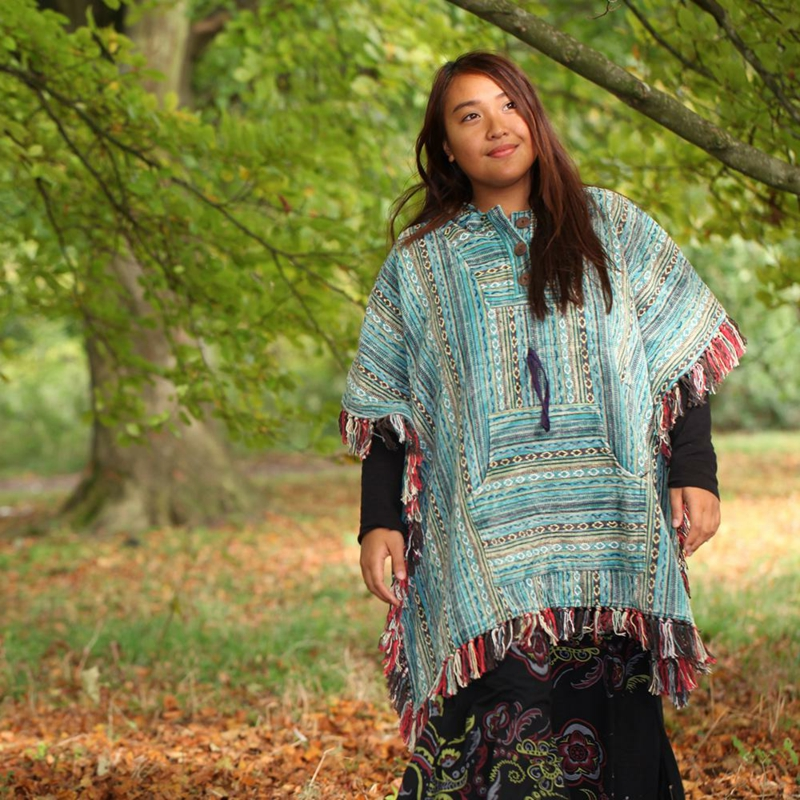 bequeme Hippe Outfits Poncho