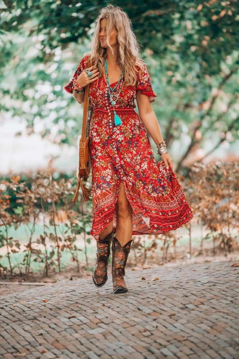 Hippie Stil für Damen