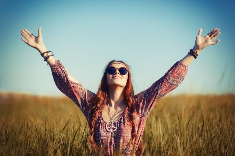 Hippie Stil modische Ideen für Damen