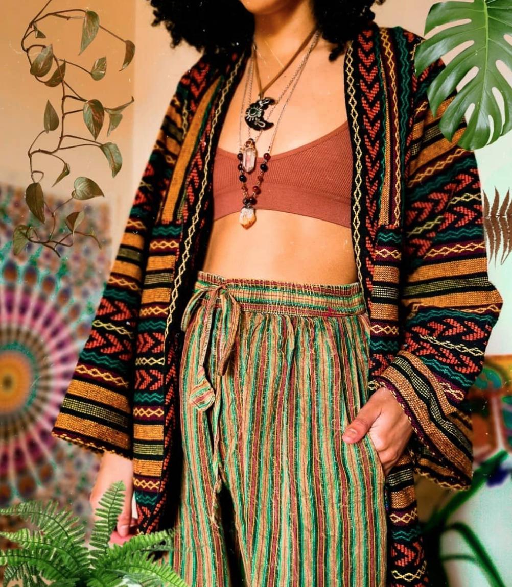 Hippie Look Farben und Muster gelungen kombinieren