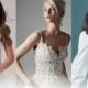 Brautkleider Elfenbeinfarbe toll